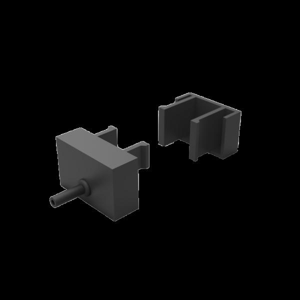 KS-5838 - Endkappen für Verbindungseinheit (Ersatzteil)