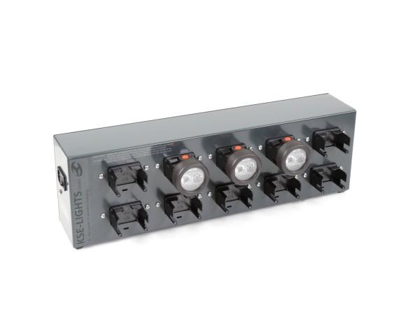 KS-5510-IX - Ladetafel für 10 Helmleuchten IX-System