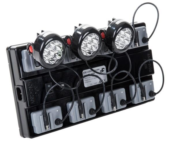 KS-5008 - Ladebox für 8 Helmleuchten Standard-System